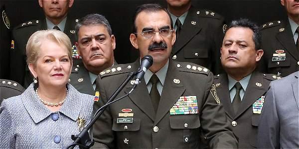 General Palomino se va de la Dirección de la Policía Nacional