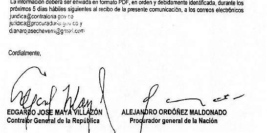 Procurador y Contralor denuncian que les falsificaron las firmas