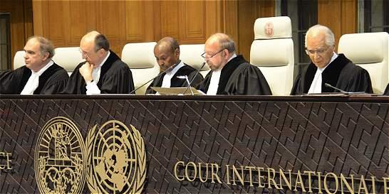 Así fue la votación de los jueces de la CIJ