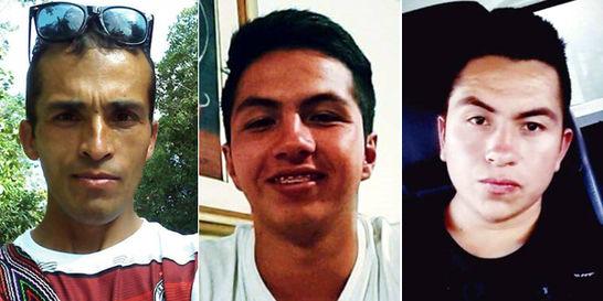 Capturados los homicidas de tres jóvenes de Cabrera