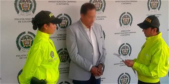 Capturado mexicano requerido con circular roja de Interpol