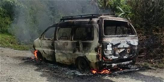 Antioquia, el departamento más afectado por el paro del 'clan Úsuga'