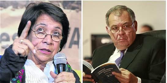 Rifirrafe entre Procurador y presidenta de la UP por restitución
