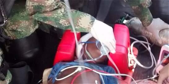 Así salvaron la vida de un niño de 6 años en Nariño