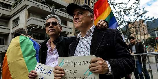 Corte Constitucional da el sí definitivo y avala el matrimonio gay