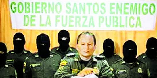 Suspensión por 15 años a patrullero que grabó video contra el Gobierno