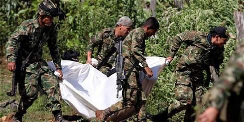 A juicio disciplinario 9 militares por muerte de 10 soldados en Cauca
