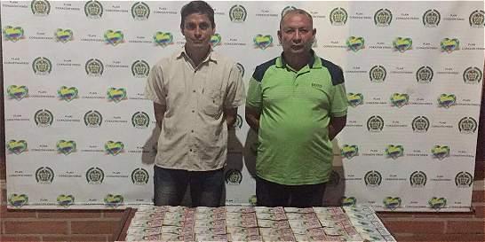 Policía incautó 300 millones de pesos de la nómina de los Úsuga