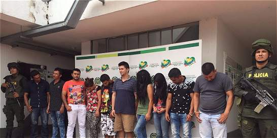 Captura de 21 personas en el Llano, un nuevo golpe a los 'Puntilleros'