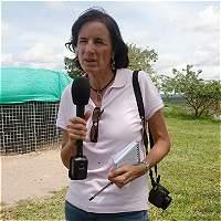 Salud Hernández volvió a enamorarse del periodismo gracias a Colombia