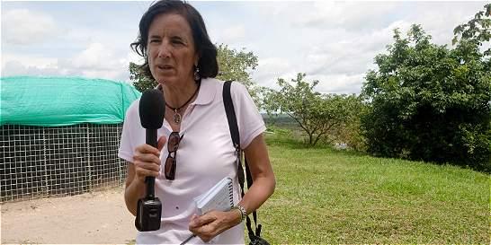 Grupo Élite del Gaula sigue buscando a la periodista Salud Hernández