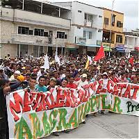 Plan del Eln para infiltrar marcha del 30 de mayo