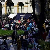 'Desde el lunes no hay ningún habitante de calle en la Plaza España'
