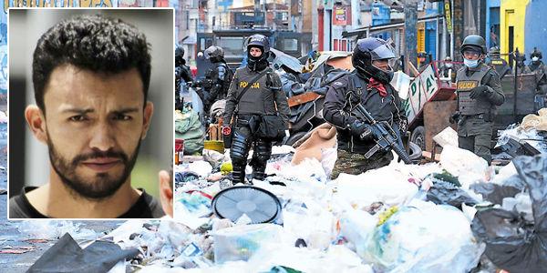 César González Díaz, 'Homero', jefe del 'Bronx'. En el operativo de las autoridades se capturaron 13 miembros de las bandas y se incautaron 30 armas de fuego.