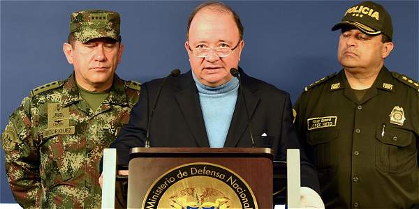 'Si Farc violaron el cese del fuego es su responsabilidad': Mindefensa
