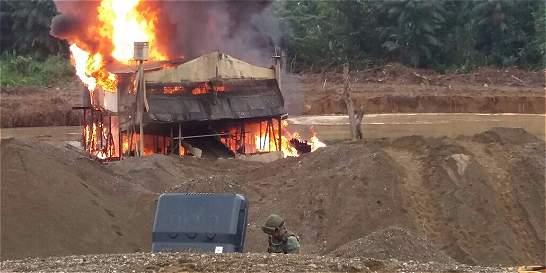 Capturados dos ciudadanos brasileños por minería ilegal en Chocó