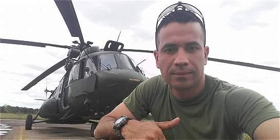 El sargento Aparicio disfrutaba lo que hacía: volar