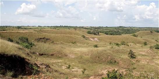 Choque por demanda sobre terrenos baldíos