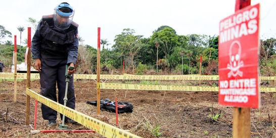 Acabar con las minas antipersonales costará 330 millones de dólares