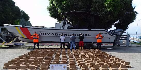 Más de cinco toneladas de coca han sido incautadas en una semana