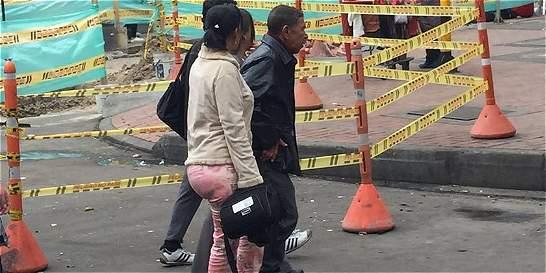 Captan imágenes del 'expara' Ramón Isaza por la séptima en Bogotá