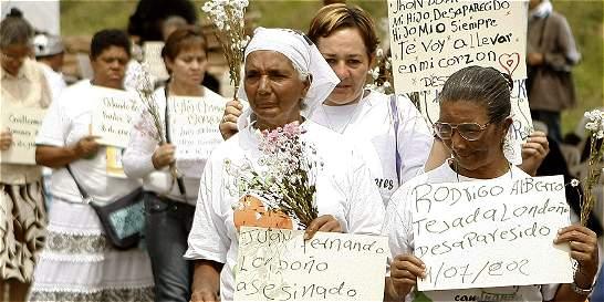 Conflicto pesa cada vez menos en drama de la desaparición en Colombia