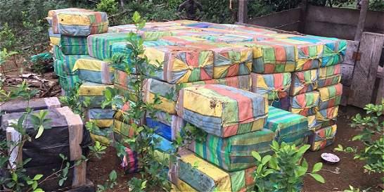 Más de cinco toneladas de cocaína, incautadas en las costas de Nariño