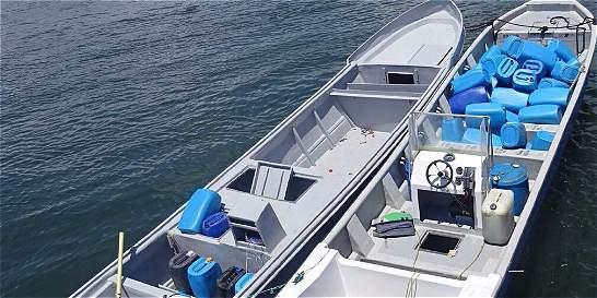 800 kilos de cocaína fueron incautados en área marítima de Tumaco