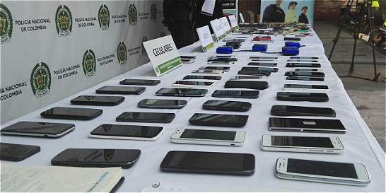 Se reduce en 11 % las denuncias de robo de celulares en Bogotá