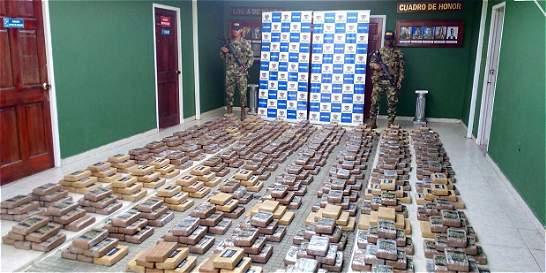 Más de dos toneladas de cocaína fueron incautadas en Nariño