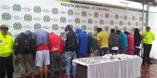 109 capturados deja redada de Policía y Fiscalía a nivel nacional