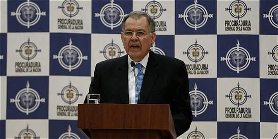 En elección de Ordóñez se siguieron reglas de Consejo de Estado: Corte
