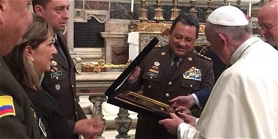 Colombia capacitará a la Policía del Vaticano en antiterrorismo
