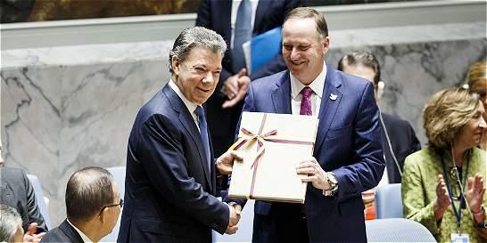 Firma del acuerdo final abre nueva era para el país