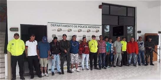 Capturadas 13 personas por hurto de hidrocarburos en Magdalena Medio