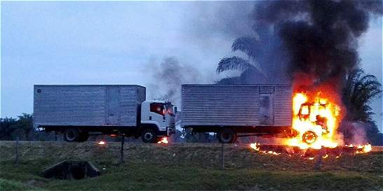 Frente 'Domingo Laín' del Eln, tras asesinato de conductores en Arauca