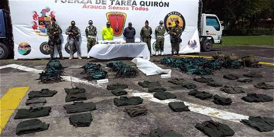 Destruida zona campamentaria del Eln en Arauca