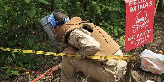 Nueve áreas libres de sospecha de minas en los Montes de María