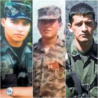 La paz, última esperanza de familias de uniformados desaparecidos