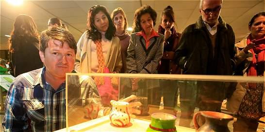 La exposición de arte de 19 víctimas de las minas antipersona