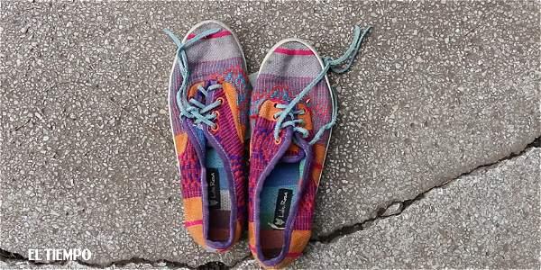 Zapatos para denunciar la violencia contra las mujeres