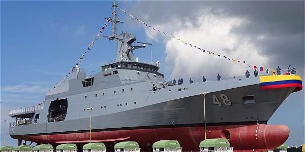 Nuevo buque fue construido en astilleros de la Armada