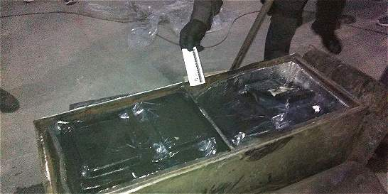 Fiscalía y Ejército incautan dos toneladas de cocaína en Sibaté