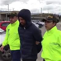 En video: el momento en que trasladan a Rafael Uribe a La Picota