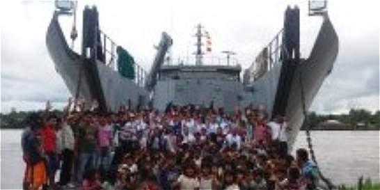 2.500 indígenas de Chocó se beneficiaron de brigada de salud de Armada