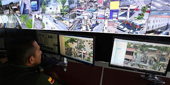 Con cámaras, Gobierno refuerza la seguridad de las ciudades