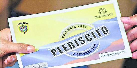 Avanza demanda contra el triunfo del 'No' en el plebiscito