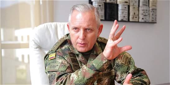 Comandante del Ejército desmiente hostigamiento a las Farc en el Meta