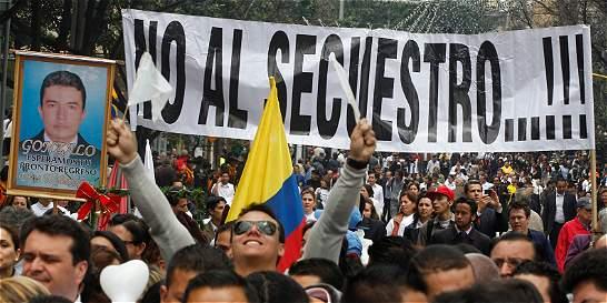 Los secuestros en Colombia se redujeron un 92% desde el 2000