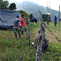 Llamado de atención a policías del baile con las Farc en Cauca